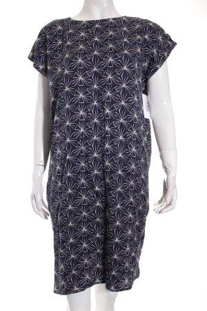 armedangels Kleid weiß-dunkelblau Gypsy-Look