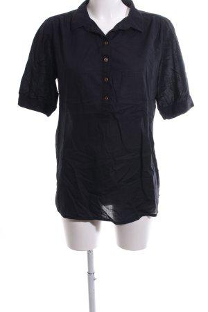 armedangels Short Sleeved Blouse black casual look