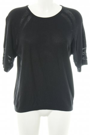 armedangels Short Sleeve Sweater black casual look