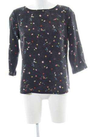 armedangels Langarm-Bluse florales Muster schlichter Stil