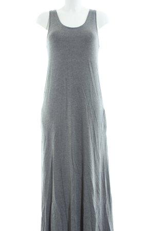 armedangels Maxi Dress light grey flecked casual look
