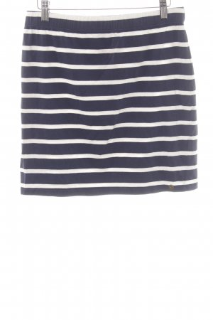 armedangels Miniskirt dark blue-white striped pattern casual look