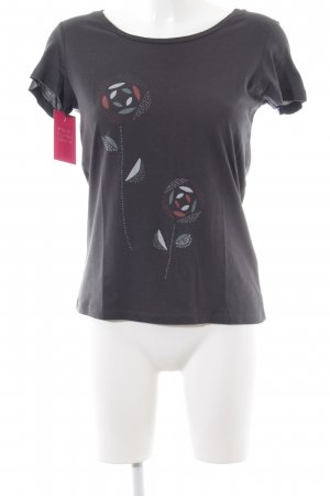 armedangels Print-Shirt Blumenmuster Casual-Look