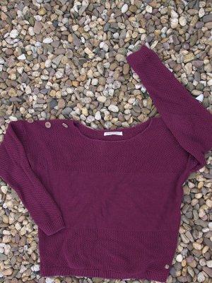 armedangels Coarse Knitted Sweater bordeaux