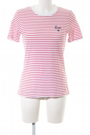 armedangels Stripe Shirt red-white striped pattern casual look
