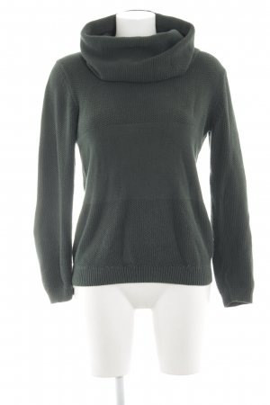 armedangels Turtleneck Sweater dark green casual look