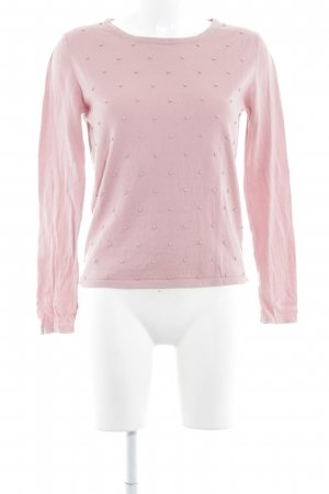 armedangels Crewneck Sweater dusky pink classic style