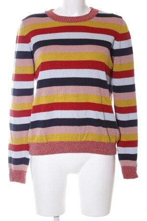 armedangels Crewneck Sweater striped pattern casual look