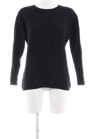 armedangels Crewneck Sweater black casual look