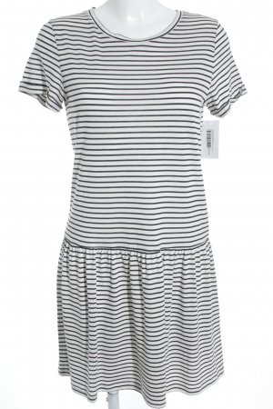 armedangels Shirt Dress natural white-dark blue striped pattern navy look