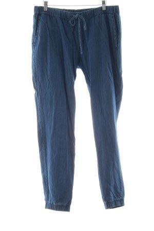armedangels Stoffhose blau Jeans-Optik
