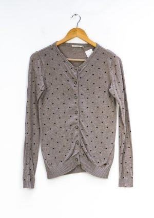 armedangels Knitted Cardigan black-grey brown