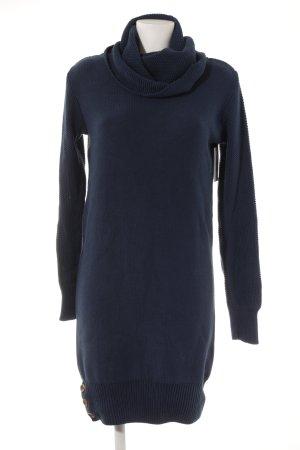 armedangels Robe en maille tricotées bleu acier style décontracté