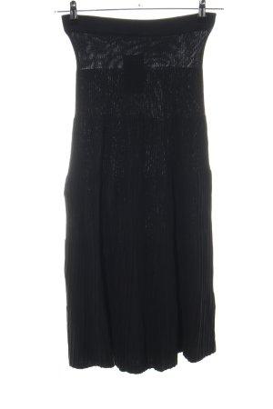 armedangels Falda de punto negro look casual