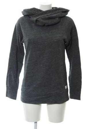 armedangels Sweatshirt grau-weiß meliert Casual-Look