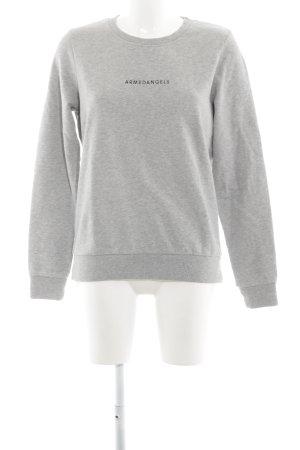 armedangels Sweatshirt hellgrau Casual-Look