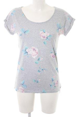 armedangels T-Shirt Blumenmuster Casual-Look