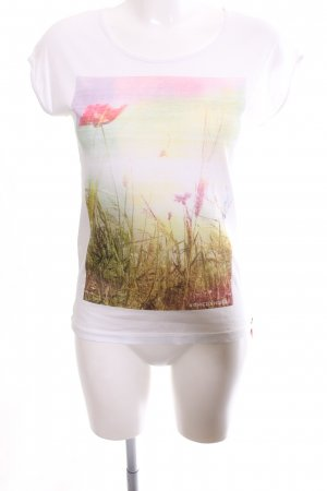 armedangels T-Shirt abstract pattern casual look