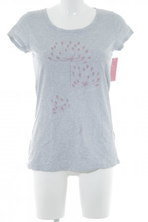 armedangels T-Shirt light grey-pink flecked casual look