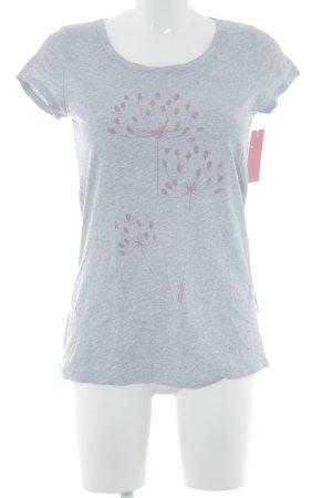 armedangels T-Shirt hellgrau-rosa meliert Casual-Look