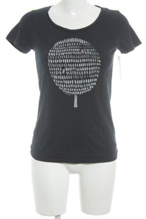 armedangels T-Shirt platzierter Druck Casual-Look