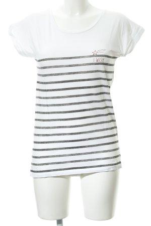 armedangels T-Shirt horizontal stripes casual look