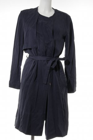 armedangels Trench Coat dark blue elegant