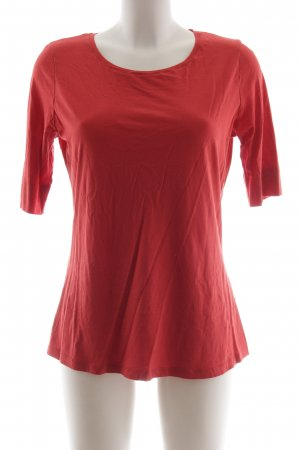 armedangels Boatneck Shirt red casual look