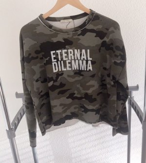 Armee kurzer Pullover