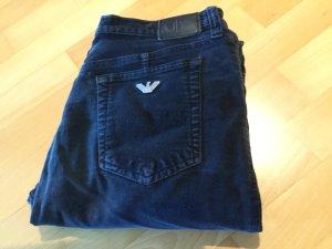 ARMINI JEANS Samt- Jeans schwarz Ital.Size 30 EUR Größe 40;