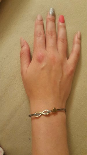 Armband zandig bruin