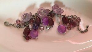 Bijou Brigitte Charm Bracelet lilac-purple
