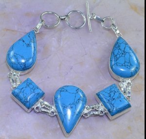 Bangle neon blue-baby blue