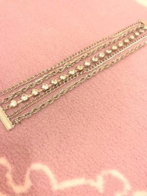 Bijou Brigitte Zilveren ketting zilver-lichtgrijs