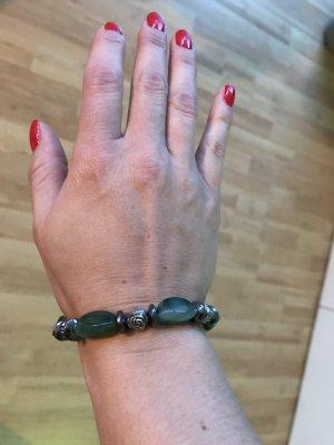Armkette Perlen Grün