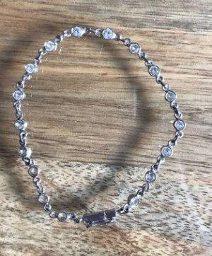 Armkette Silber mit Steinen