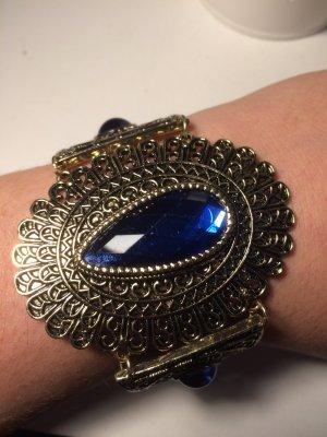 Bijou Brigitte Arm Decoration gold-colored-blue