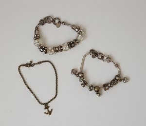 s.Oliver Charm Bracelet silver-colored-gold-colored