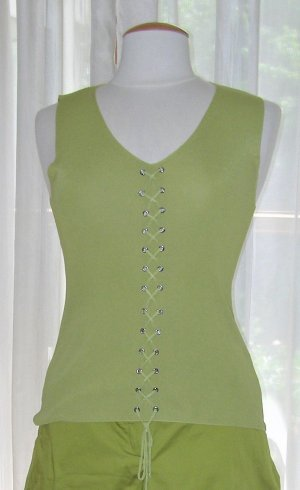 Knitted Top grass green