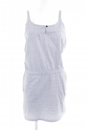 Armor Lux Shortsleeve Dress zigzag pattern casual look