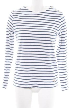 Armor Lux Longsleeve white-blue striped pattern casual look