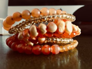 Apart Fashion Pearl Bracelet multicolored