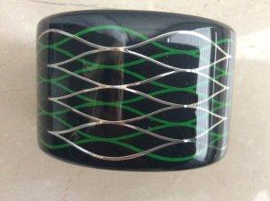 Kenzo H&M Braccialetto nero Materiale sintetico