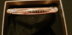 Dyrberg/Kern Bangle gold-colored
