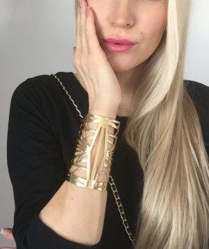 Armreif Armband Gold Bracelett kette neu Fashion mode Bohemian Hippie