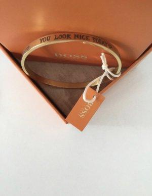 Armreif, Armband, Gold, Hugo Boss Orange