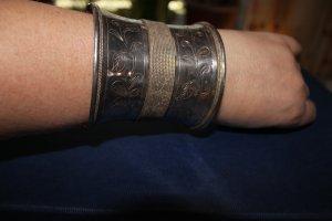 Armreif / Armspange aus 925er Silber