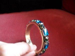 Bracelet de bras multicolore bronze