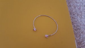 Bangle silver-colored-light pink