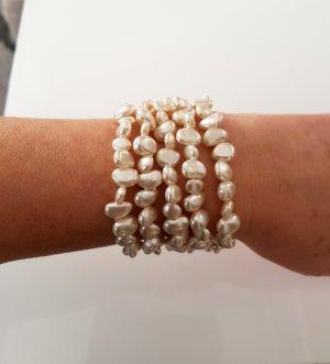 Pearl Bracelet cream-white